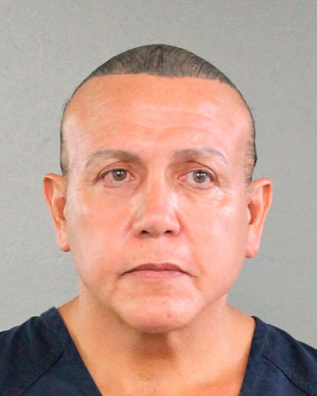 Cesar Altieri Sayoc is pictured in Ft. Lauderdale, Florida, U.S. in this August 2015 handout. Pic: Broward County Sheriff's Office/Handout via REUTERS