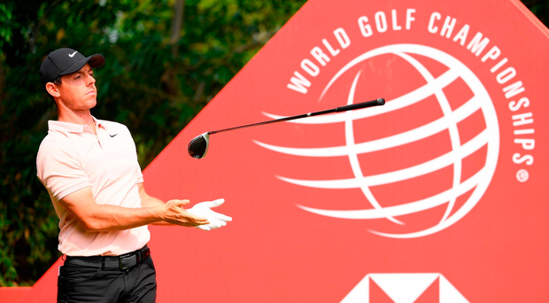 Power surges to make cut as McIlroy struggles