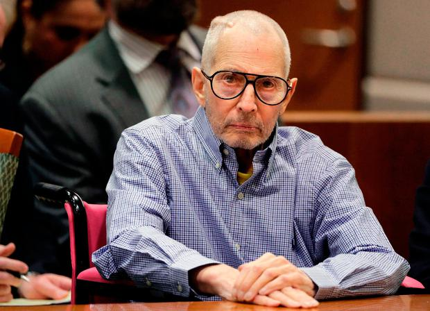 Murder charge: Eccentric New York property heir and millionaire Robert Durst. AP Photo