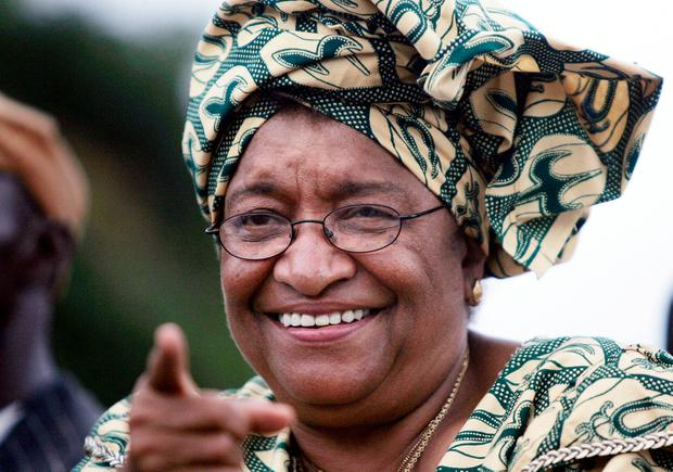 First in Africa: Former Liberian president Ellen Johnson Sirleaf. Photo by Chris Hondros/Getty Images