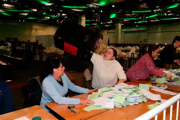 Counting of votes begins in Ireland's presidential election on Saturday, with incumbent Michael D Higgins on course to secure a landslide victory. Niall Carson/PA Wire