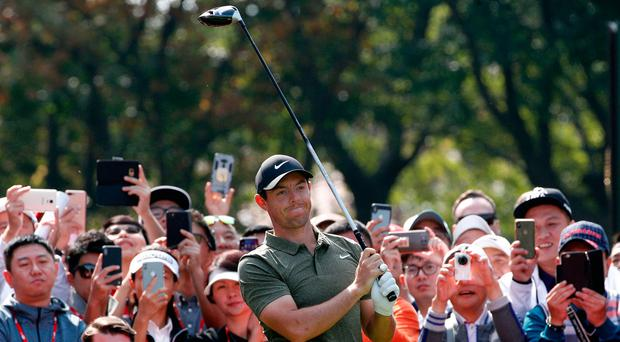 Rory McIlroy 21 shots off the lead after another disappointing round in China