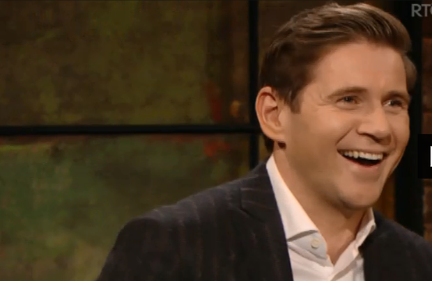 Allen Leech on the Late Late Show