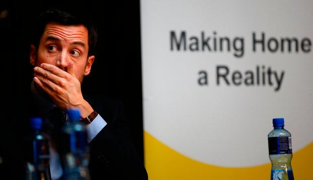 Housing minister Eoghan Murphy has taken a stand in a country where telling people what they can do with their property is a tricky business. Picture; Gerry Mooney