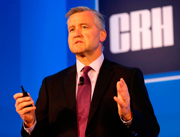CRH chief executive Albert Manifold — Sarasin has decided to hold off putting his company into its portfolio for now