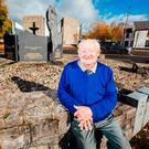 PRIDE: John Higgins — brother of Michael D — pictured at his hometown of Newmarket On Fergus, Co Clare, yesterday. Photo: Brian Arthur