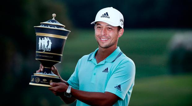 Xander Schauffele beats Tony Finau in Shanghai playoff as Rory McIlroy brings disappointing weekend to a close