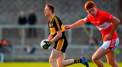 Colm Cooper in action for Dr Crokes during yesterday's Kerry County SFC final. Photo: Brendan Moran/Sportsfile