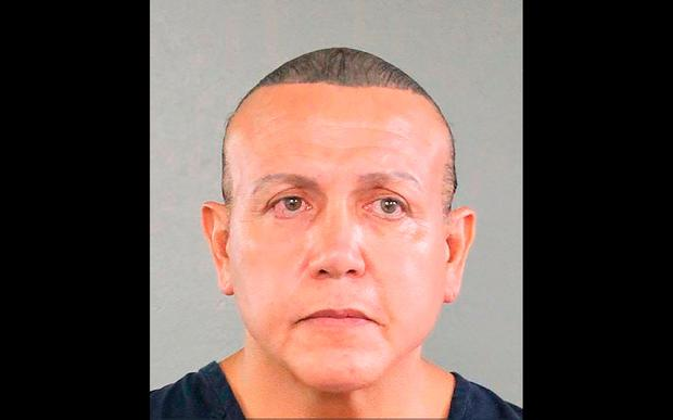 Pipe bomb suspect Cesar Sayoc. Photo: AFP/Getty Images