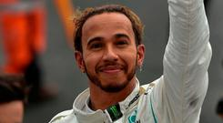 Mercedes' British driver Lewis Hamilton. Photo: Rodrigo Arangua/AFP/Getty Images