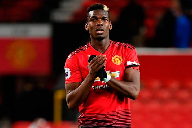 Manchester United's midfielder Paul Pogba. Photo: Getty Images