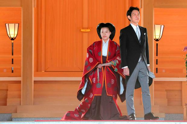 Japanese Princess Ayako relinquishes Royalty as she marries Commoner