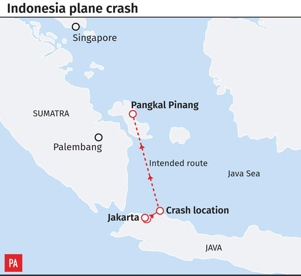 No survivors\' from Indonesia flight which crashed into the sea ...