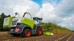 The 626hp addition to the Claas Jaguar forage harvester range