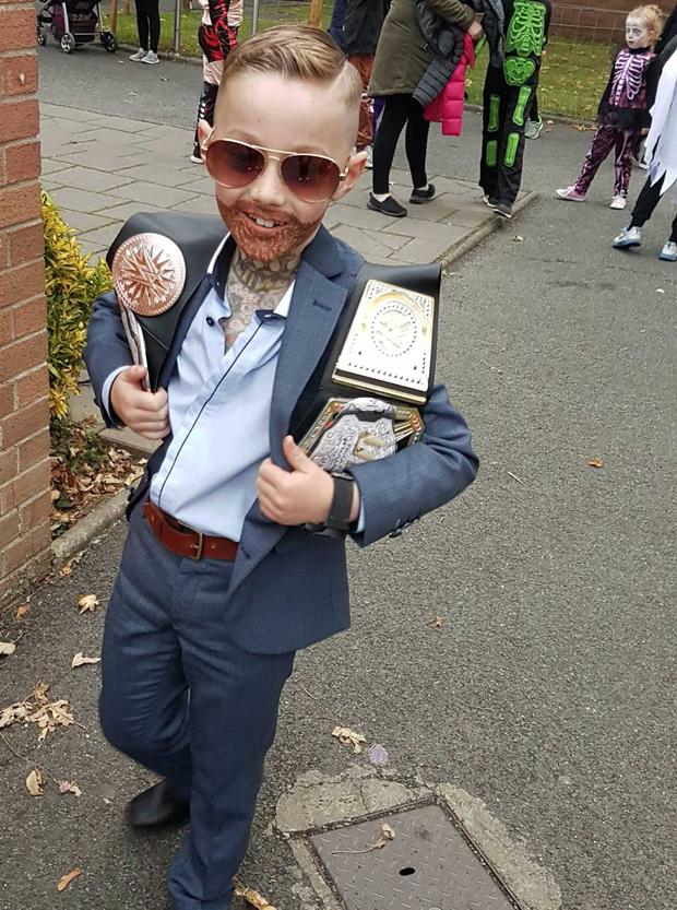 Mason O'Connor as Conor McGregor