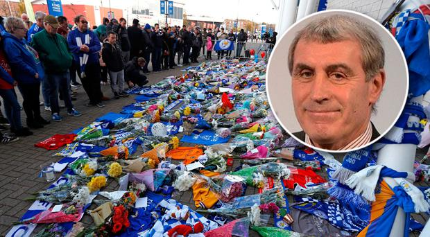 Peter Shilton (inset) was an eye-witness to the crash