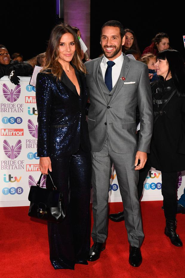 Amanda Byram and Julian Okines attend the Pride of Britain Awards 2018 at The Grosvenor House Hotel on October 29, 2018 in London, England. (Photo by Jeff Spicer/Getty Images)