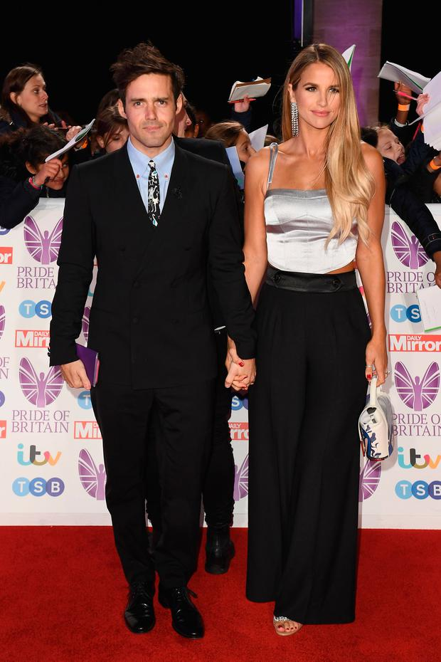 Spencer Matthews and Vogue Williams attend the Pride of Britain Awards 2018 at The Grosvenor House Hotel on October 29, 2018 in London, England. (Photo by Jeff Spicer/Getty Images)