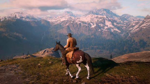Red Dead Redemption 2: Stunning scenery