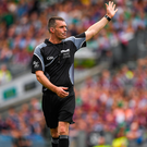 Referee James Owens advised family and friends to stay away from social media. Photo by Ray McManus/Sportsfile