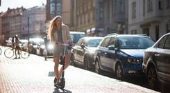 E-scooters are becoming increasingly popular in some European cities and in the US. Photo: Getty Images