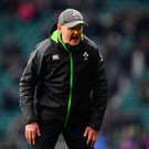 Ireland head coach Joe Schmidt ahead of the NatWest Six Nations Rugby Championship match between England and Ireland at Twickenham last March