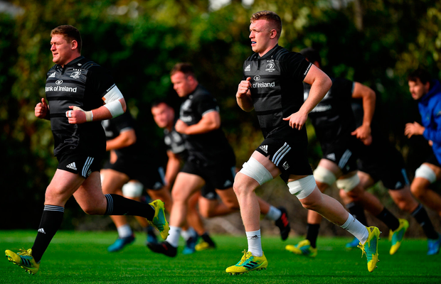 Leavy was part of a 27-man squad that made the trip to Port Elizabeth yesterday. Photo by Brendan Moran/Sportsfile