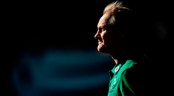 'If Joe Schmidt only arrives in Chicago two days before the match then by his own rules of having to train the full week before a Test match, he shouldn't be the coach for this game.' Photo by Brendan Moran/Sportsfile