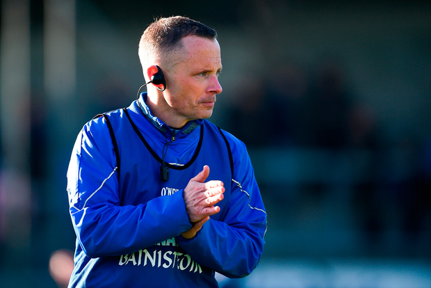 TOP MAN: Joe Fortune. Photo by Daire Brennan/Sportsfile
