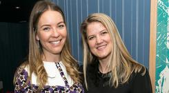 Emma Manley and Jenny Huston at the re-launch of Carluccio's Dawson Street. Picture: Paul Sherwood