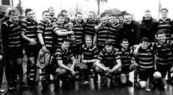 The J1s after winning the O'Neill Cup earlier this year
