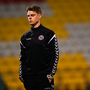 30 October 2018; Bohemians Coach and First Team player Ian Morris prior to the SSE Airtricity U19 League Final match between Shamrock Rovers and Bohemians at Tallaght Stadium, in Dublin. Photo by Harry Murphy/Sportsfile