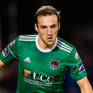 Cork City's Karl Sheppard. Photo: Harry Murphy/Sportsfile
