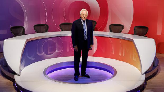 David Dimbleby (Richard Lewisohn/BBC/PA)