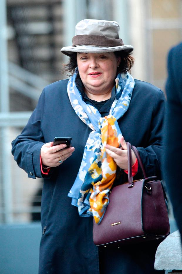 Appearance: Maura Derivan arriving for the hearing at the Solicitors Disciplinary Tribunal in Dublin. Photo: Justin Farrelly