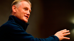 Head coach Joe Schmidt in Chicago