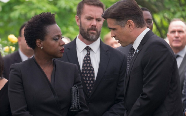 Colin Farrell and Viola Davis star in Widows