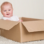 "Prof Peter Blair says ""the cardboard baby box should not be promoted as a safe sleeping space, but as only a temporary substitute if nothing else is available""."