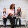Mary Black with her two grandchildren Fía (4) and Bonnie O'Reilly (6). Black is an ambassador with Specsavers Grandparent of the Year campaign.