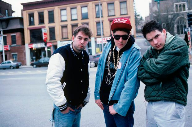 Former punks: Yauch, Diamond and Horowitz of the Beastie Boys