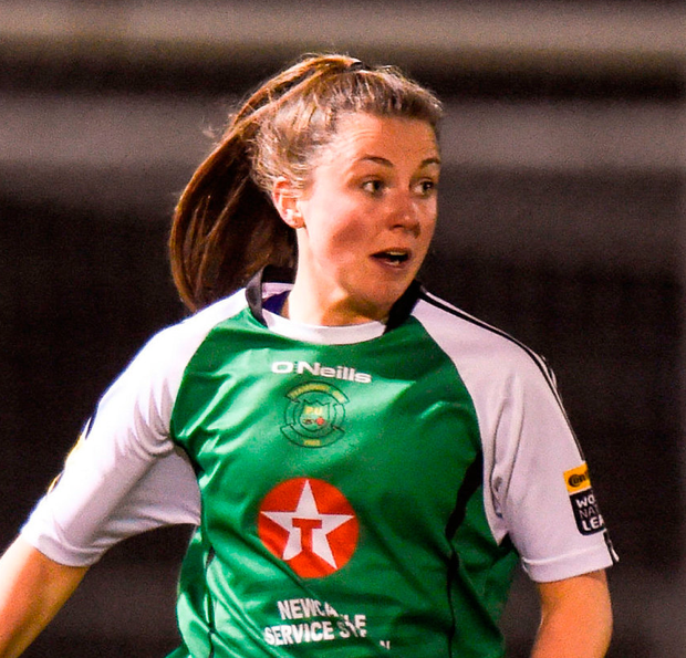 'Tomorrow Ryan Doyle (20) will play in her first Continental Tyres FAI Women's Cup final with Peamount United.' Photo: Barry Cregg/Sportsfile