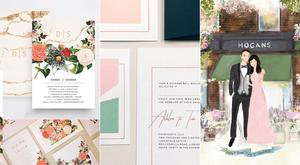 Top wedding stationery and invitation designers Ireland | THEVOW.ie