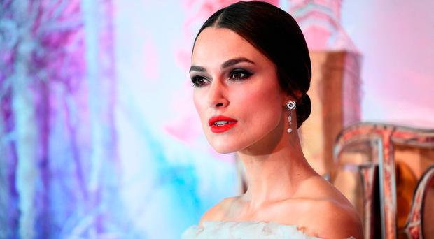 Keira Knightley attends the UK Premiere of Disney's 'The Nutcracker And The Four Realms' at Vue Westfield on November 01, 2018 in London, England. (Photo by Gareth Cattermole/Getty Images for Disney)