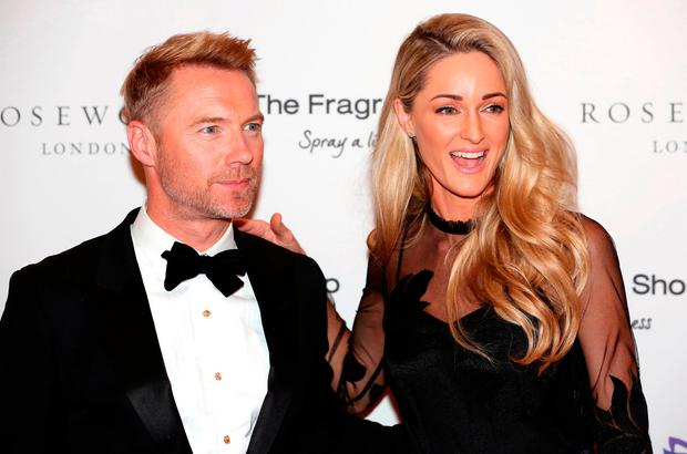 Ronan Keating and Storm Keating attending the 9th Annual Global Gift Gala held at the Rosewood Hotel, London