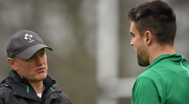 Larmour stars as Ireland rout Italy in Test