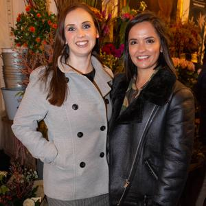 Vicky Shilling and Lauren Healy at the official launch of Seedlip Distilled Non-Alcoholic Spirits to Ireland in The Garden, Powerscourt Townhouse, Dublin. Picture: Daragh McDonagh