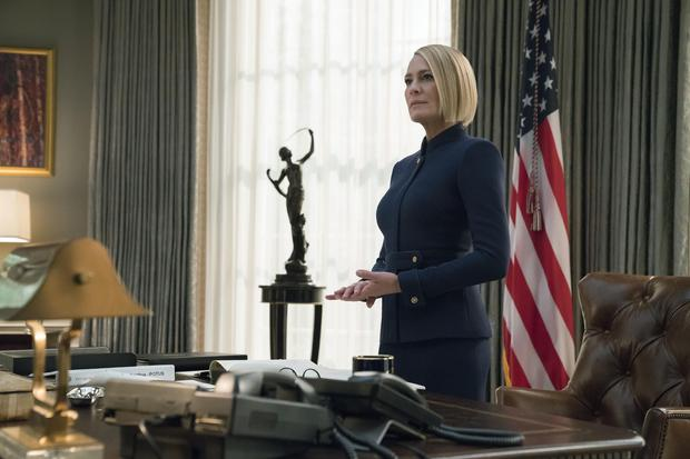 Robin Wright as Claire Underwood in Netflix's House of Cards