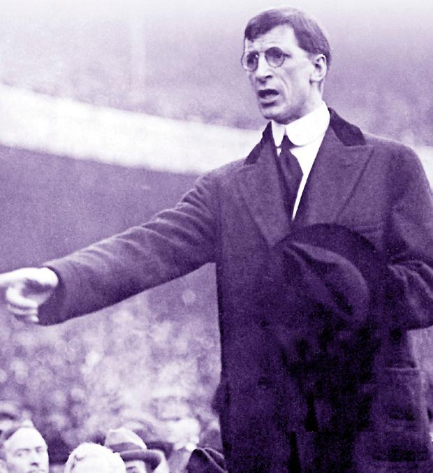 De Valera. Had his electoral plan suceeded, it would have wiped out Fianna Fail.
