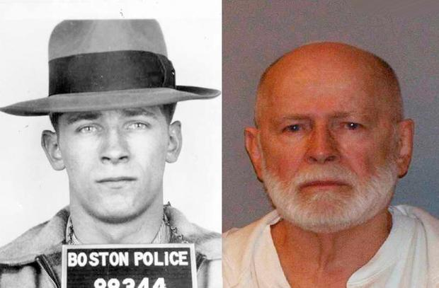 Police mugshots of James Whitey Bulger