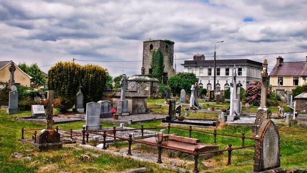 Listowel Cemetery, where the refusal to bury single mother Peggy McCarthy led to an uprising by the locals